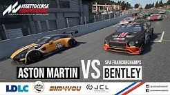 MON PLUS BEAU DUEL ?! | ASTON MARTIN VS BENTLEY A SPA