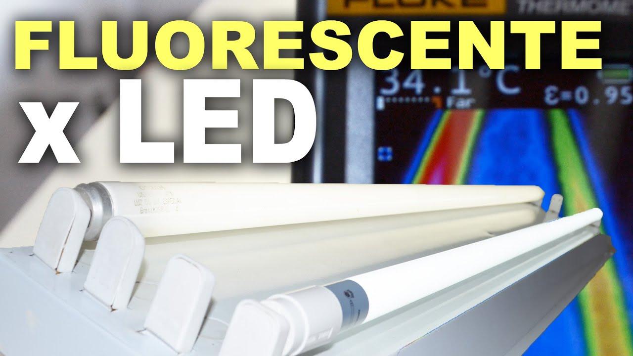 Lâmpada De LED X Fluorescente   Quem Esquenta Mais?   YouTube