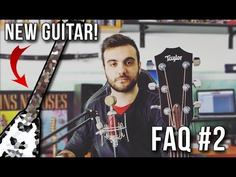 50'000 Special - FAQ #2 And Guitar Collection Update (NEW GUITAR!)