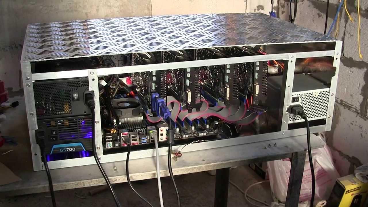Сборка компьютера для майнинга биткоинов-17