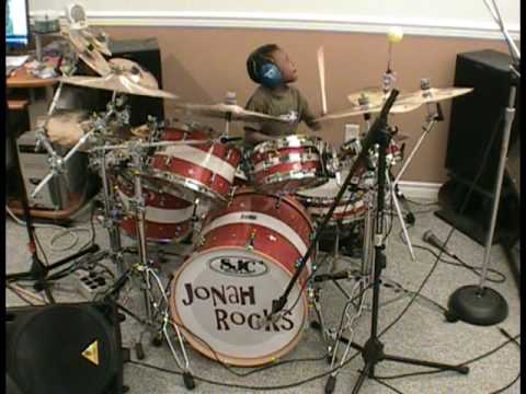 Sass Jordan - High Road Easy, 5 Year Old Drummer, Jonah Rocks