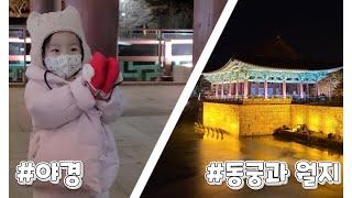 육아 브이로그/20개월 아기/경주 동궁과 월지/야경/코…