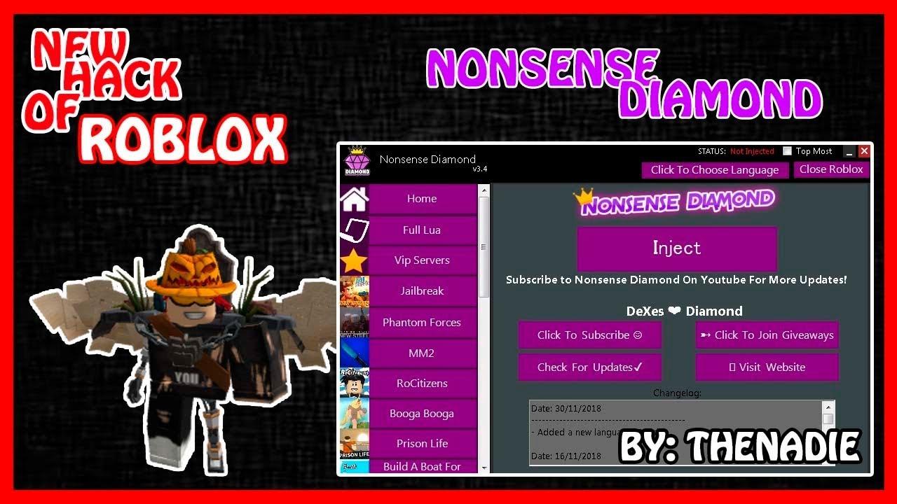 New Updated Roblox Exploit Nonsense Diamond 4 5 Auto Farm More By Rrx The Viper