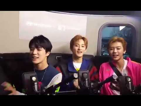NCT MARK - JENO - JAEMIN singing GO ❤