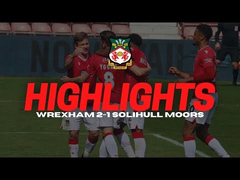 Wrexham Solihull Goals And Highlights