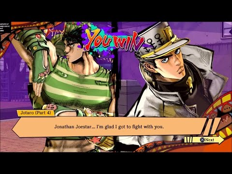 JJBA: EOH - Jonathan Meeting His Descendants - YouTube