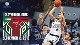 RED-HOT: Kobe Paras has another MONSTER game to power UP to back-to-back wins | UAAP 82 MB