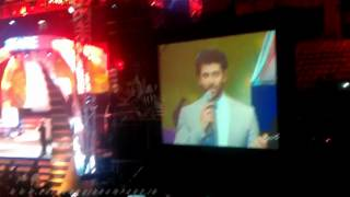 Chiyaan Vikram at 59th Idea Filmfare Awards South 2012