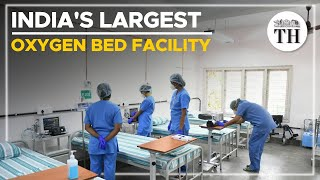 India's largest oxygen bed facility