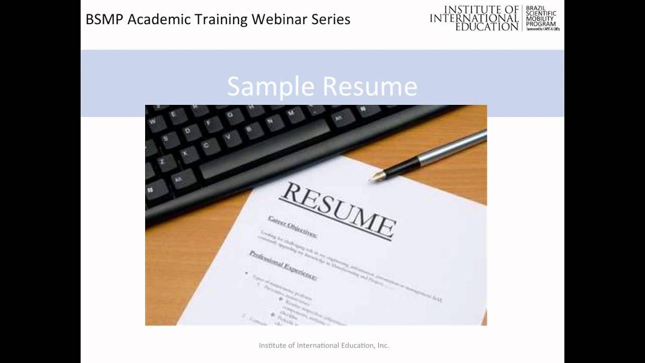 resume workshop - Resume Workshop