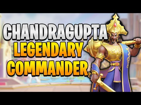Chandragupta Maurya Pairing Guide + Talent Build [ Full Commander Overview ] | Rise of Kingdoms