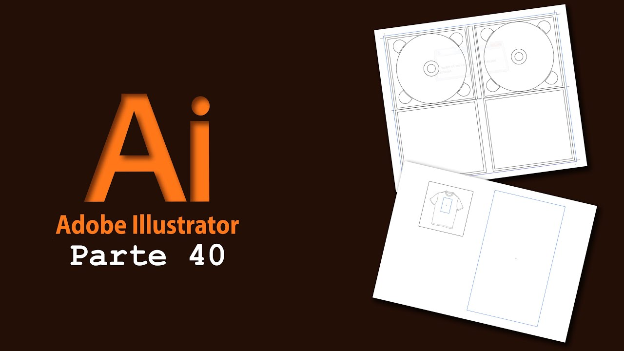 Adobe Illustrator 40) Plantillas de Illustrator - YouTube
