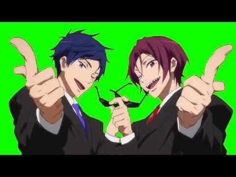 Free Masks Anime (Free! & Love Stage!!)
