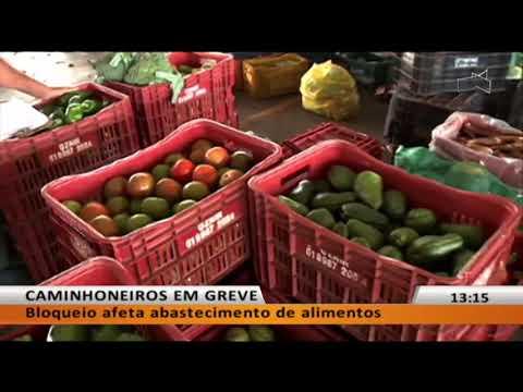 JL - Bloqueio afeta abastecimento de alimentos