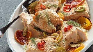 How to Make: Slow Roasted Citrus Salmon