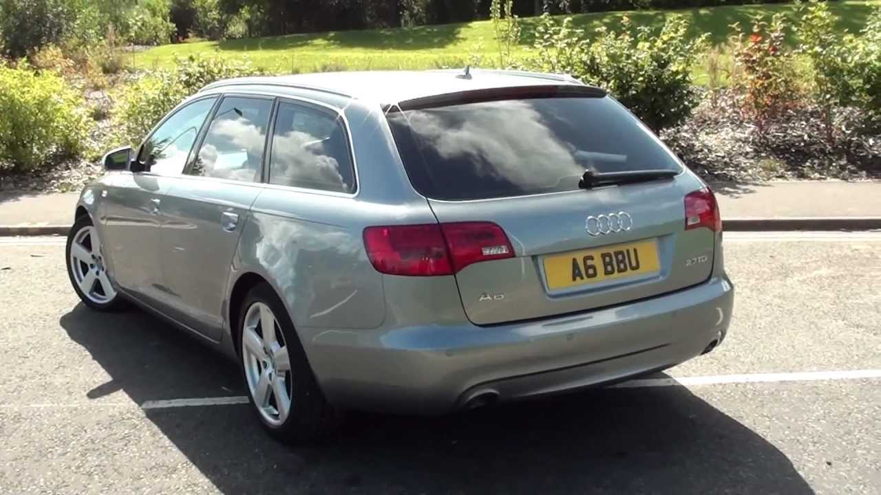 audi a6 c6 avant 2 7 tdi multitronic 2006 full review. Black Bedroom Furniture Sets. Home Design Ideas
