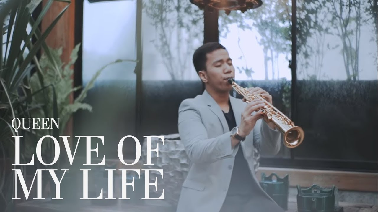 Love Of My Life - Queen (Saxophone Cover by Desmond Amos)