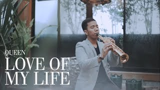 Gambar cover LOVE OF MY LIFE (Queen) Saxophone Cover by Desmond Amos