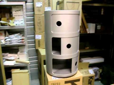 Kartell Componibili Kast : Kartell componibili kartell componibili er container metallic