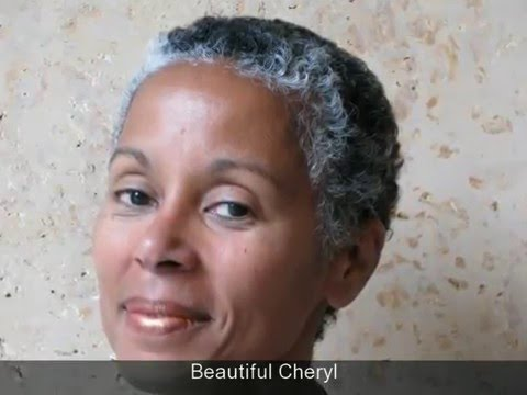 Natural Hair, Gray Hair, Transition Hair, Black Hair - Silver ...