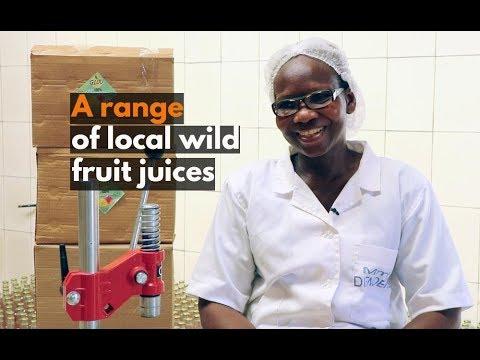 Burkina Faso: A range of local wild fruit juices