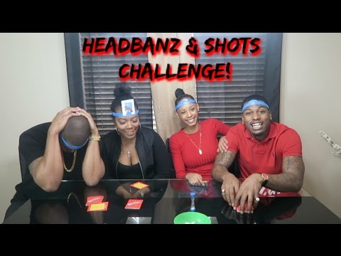 HEADBANZ AND SHOTS CHALLENGE! (VOMIT ALERT????)
