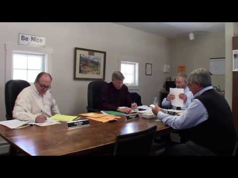 Selectmen's Meeting April 3, 2017