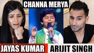 JAYAS KUMAR | Channa Merya | Arijit Singh | REACTION!