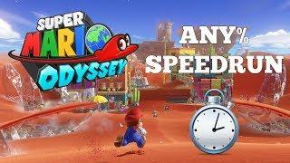 Super Mario Odyssey | Switch | Any% Speedruns | New AM World Record 1:21:40