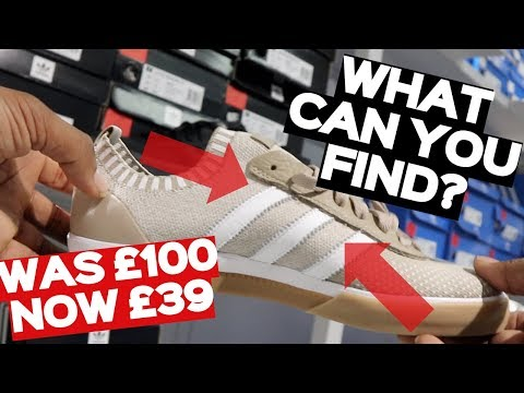 Visiting Londons ONLY Designer Outlet | NIKE + ADIDAS | OUTLET TOURS