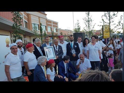 Guinness world record 2018 Serravalle Scrivia