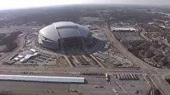Super Bowl XLV preps - Cowboy's Stadium