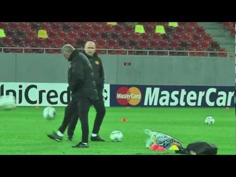 "Sir Alex Ferguson's ""amazing"" skills"