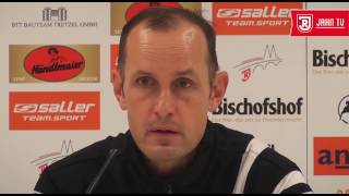 Pressekonferenz vor dem 13. Spieltag gegen den 1 FC Magdeburg