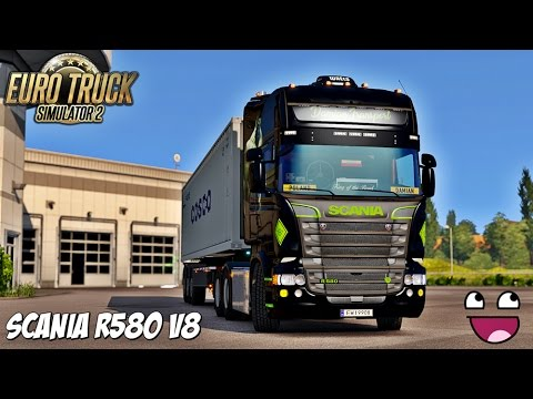 euro truck simulator 2 3 rouen le mans youtube. Black Bedroom Furniture Sets. Home Design Ideas