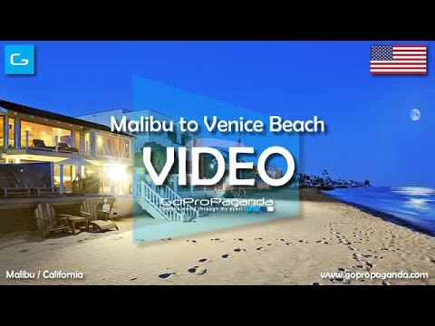 [HD] Malibu to Venice Beach via Santa Monica