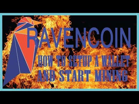RAVENCOIN - What is it,  Wallet Setup, and How to Mine It!!