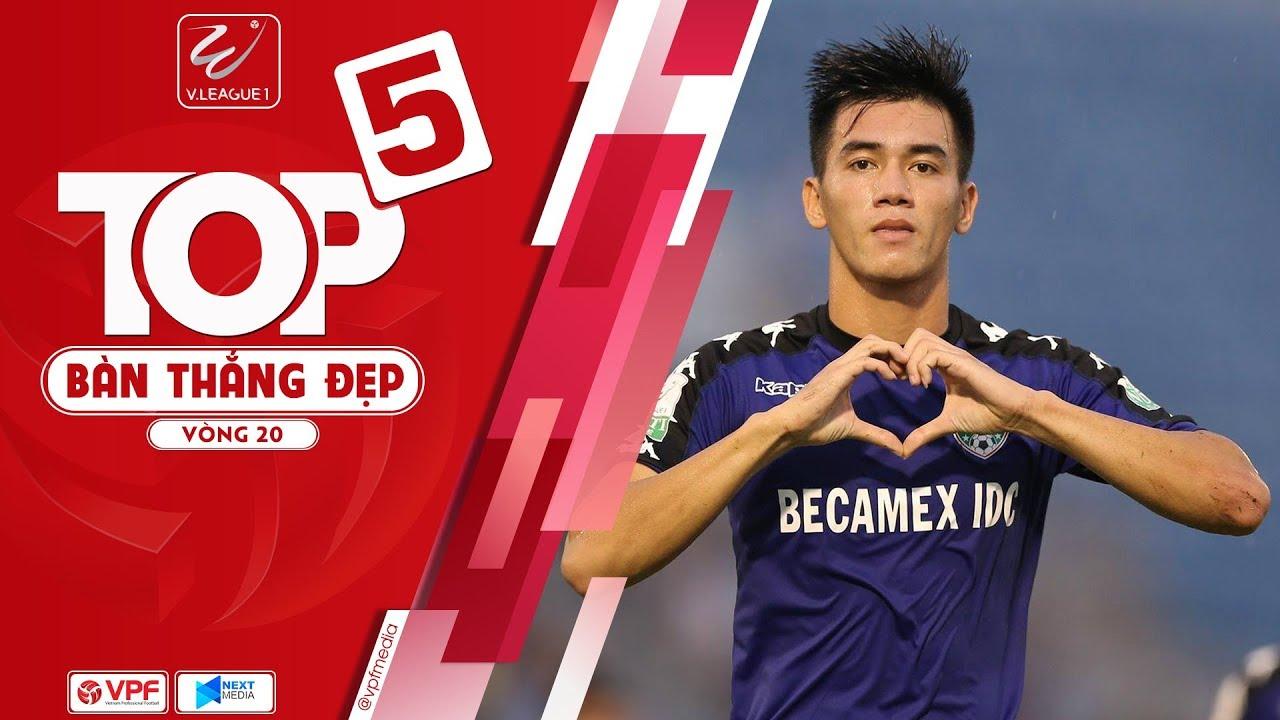 Dấu ấn của Nguyễn Tiến Linh trong top 5 bàn thắng đẹp nhất vòng 20 V.League 2018  | VPF Media