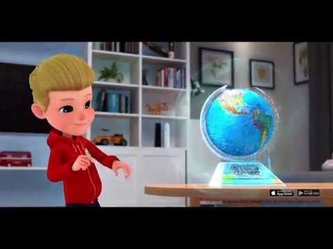 Smart Globe Adventure SG268R - Interactive SmartGlobe with Smart Pen and 3D Augmented Reality