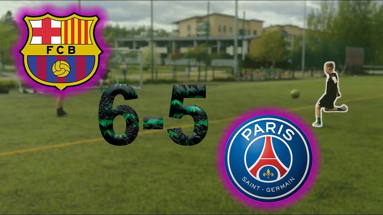 Recreating Barcelona Vs Psg 6-5 / The GREATEST Comeback of ...