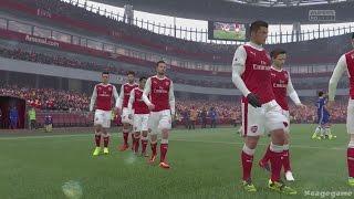 FIFA 17 Arsenal London VS Chelsea - Full Gameplay