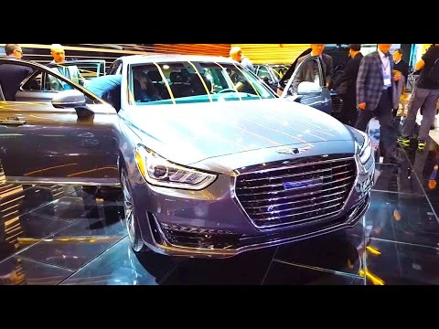 New 2017 Genesis G90  Walkaround Features Amp Specifications  YouTube