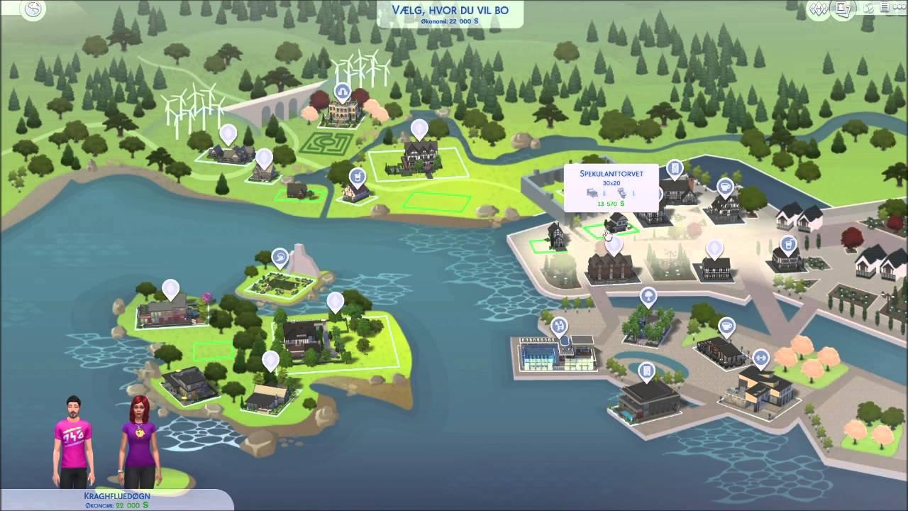 The Sims 4 Nye Venner Youtube