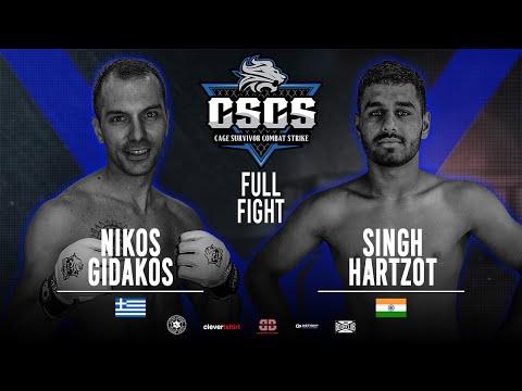 Combat Strike 1: Nikos Gidakos vs Singh Hartzot Full Fight