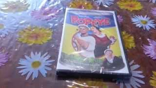 Unboxing Popeye DVD