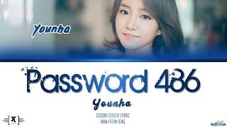 "Younha (윤하) - ""Password 486 (비밀번호 486)"" Lyrics [Color Coded Han/Rom/Eng]"