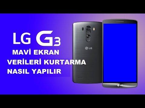 Mavi Ekran Hatası Veren LG G3 Telefondan Veriler Nasıl Kurtarılır