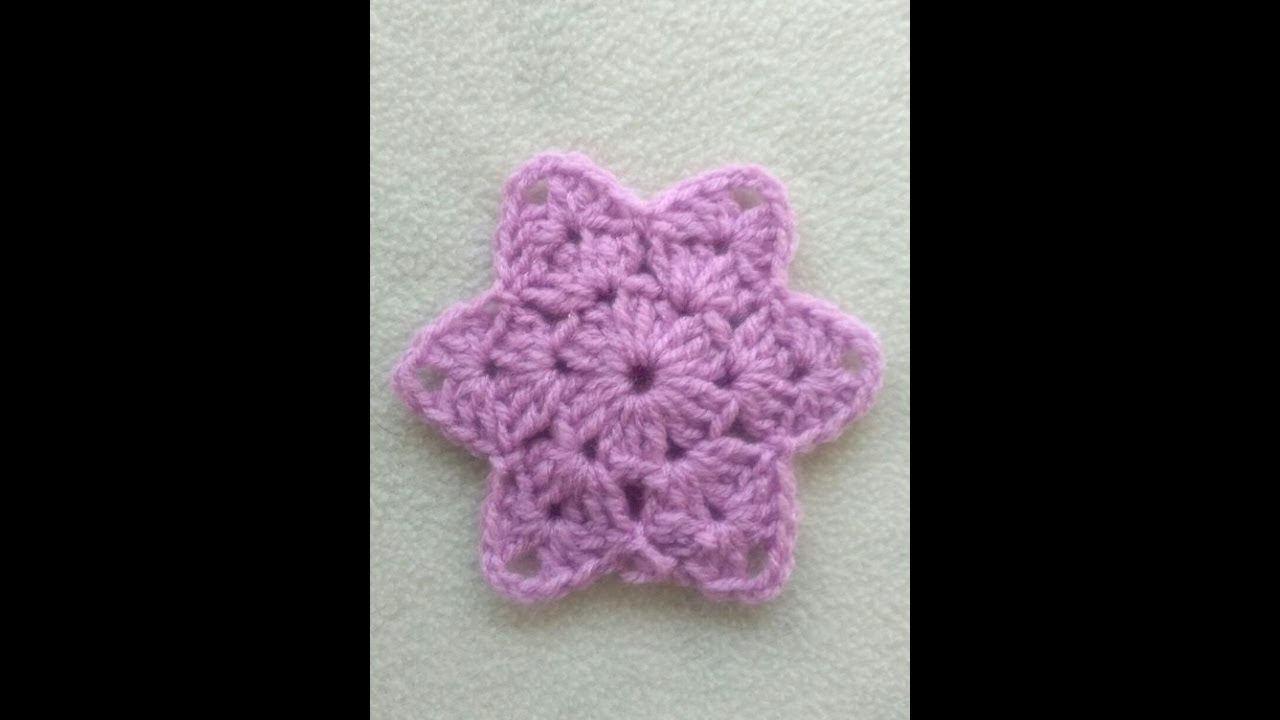 Vistoso Crochet Patrón De Flor De La Estrella Motivo - Ideas de ...