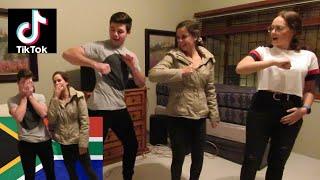 Afrikaans guy learns TikTok dances. I'm a SAVAGE dance. South African TikTok dance