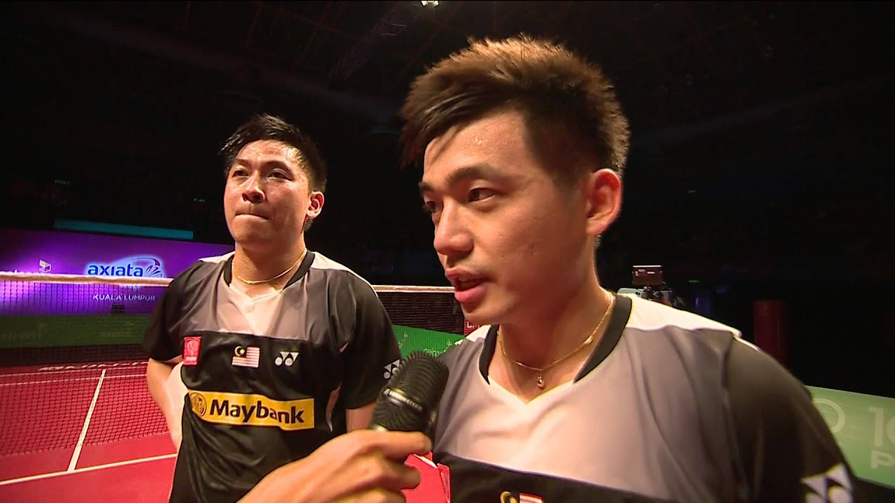 AXIATA CUP 2014 POST INTERVIEW TAN BOON HEONG & TAN WEE